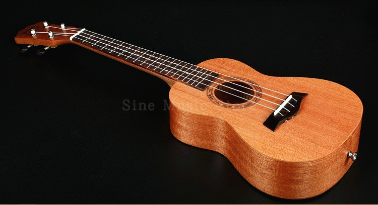 26 inch Hawaii Small Guitar Electric 4 Strings Musical Instruments Ukulele Rosewood Concert Mini Acoustic Uke Handcraft concert acoustic electric ukulele 23 inch high quality guitar 4 strings ukelele guitarra handcraft wood zebra plug in uke tuner