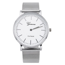 купить montres Hot New High-end Women Watch Luxury Brand Quartz Watches Men Metal Mesh Stainless Steel Wristwatches relogio masculino по цене 181.72 рублей