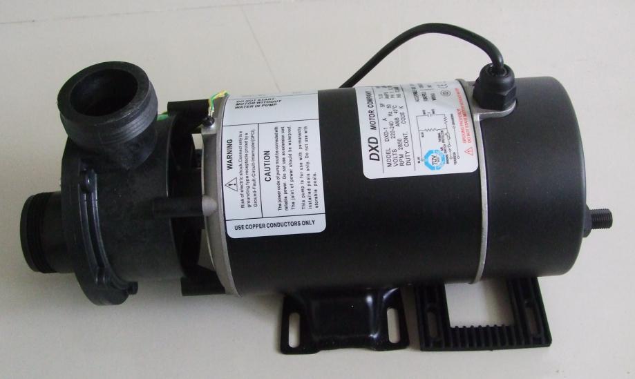 Pompe à DXD-1A avec 0.75 kw/1.0HP et pour pompe de baignoire spa et pompe de baignoire