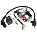 Ignition Coil ATV 125 110 90 70 50cc STATOR IGNITION MAGNETO 5 pin CDI Spark Plug AT7C Kit For Taotao Sun