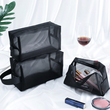 Transparent Women Cosmetic Bag Travel Function Makeup Case 2019 Zipper Make Up Organizer Storage Pouch Toiletry Beauty Wash Bag
