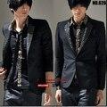 New men's clothing Spring coat Korean brand casual fashion leopard dress suit men Slim small suit Costumes Nightclubs Blazers