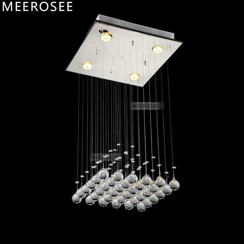 Smart Modern Crystal Chandelier Led Lustres De Cristal Hanging Lamps For Living Room Hotel Lobby Long Spiral Crystal Suspension Lamps Good Reputation Over The World Ceiling Lights & Fans