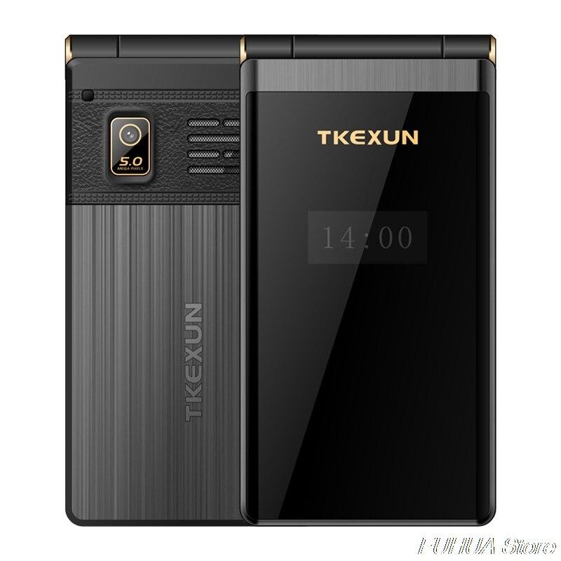 TKEXUN M2 PLUS 3.0 ''grande clé police écran tactile 3G WCDMA téléphone Mobile téléphone une clé cadran vieil homme Celulares PK G10 FM - 3