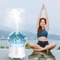 Difusor fresco preservado do aroma da flor novo projetado difusor do aroma do óleo essencial|Umidificadores| |  -