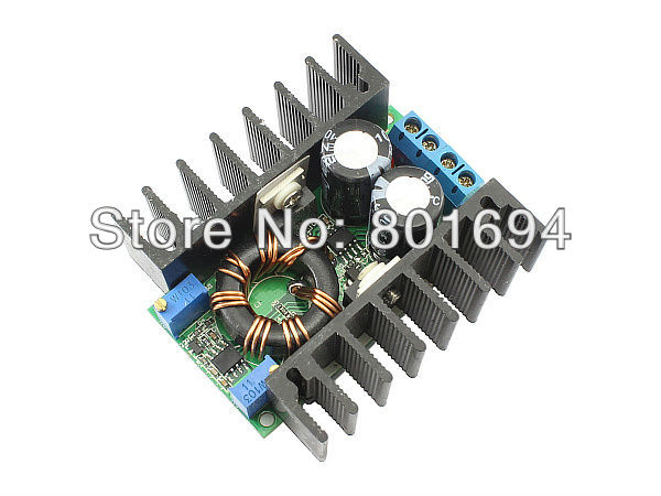 цена на High Power DC-DC Constant Current Constant Voltage Boost Converter Step-up Power Module 11-35V 10A 100W For Laptop/LED Drive