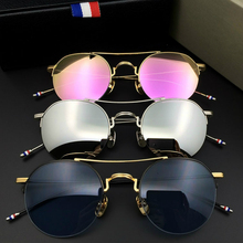 2017 Vintage Women Sunglasses Top fashion Brand Designer Metal Frame Summer Must Have Oculos De Sol Feminino With Original Box