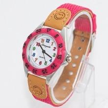 New Fashion Quartz Watch Kids Children's Nylon Wristwatch
