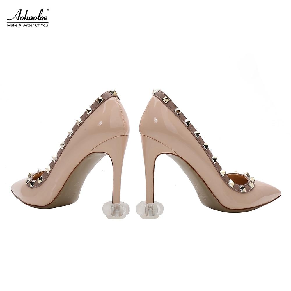 Aohaolee 5 Pairs / Pack New Heel Protectors Tacones de tacón alto - Accesorios de calzado - foto 3