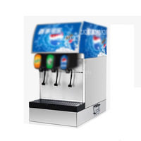 Stainless Steel Commercial 3 Valves Cola Making Machine Automatic Electric Cold Cola Dispenser Carbonated Drink Maker Machine