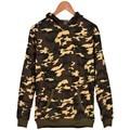 Camuflaje de invierno de Color Blanco Ropa XXS A 4XL hoodies Gruesos hombres/mujeres sudaderas Camuflaje Moda Serie Profundidad/superficial