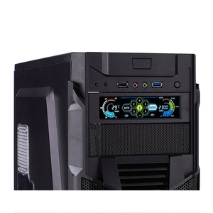 Image 4 - Stw Fan Controller Lcd Touch Screen Plastic 5.25 Inch Bay Front 5 Fan Speed Computer Cooling