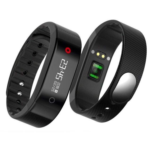 screen rate bracelet swimming waterproof monitor tracker lemfo fitness heart full wristband dp smartband color smart