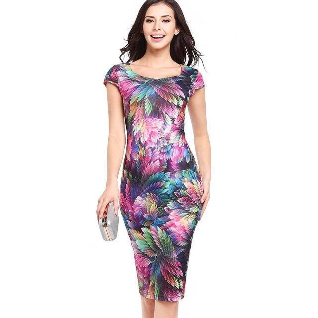 Online Shop 15 colors S-XXL women pencil dresses 2017 Western ...