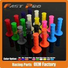 10 Color Gel Rubber Handlebar Grips For CRF YZF WRF KXF KLX KTM RMZ Pit Dirt Bike Motocross Motorcycle Enduro MX Offroad
