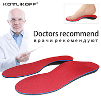 KOTLIKOFF Orthopedic Insoles Doctors Recommend Best Material EVA Orthotic Insole Flat Feet Arch Support Orthopedic Shoes