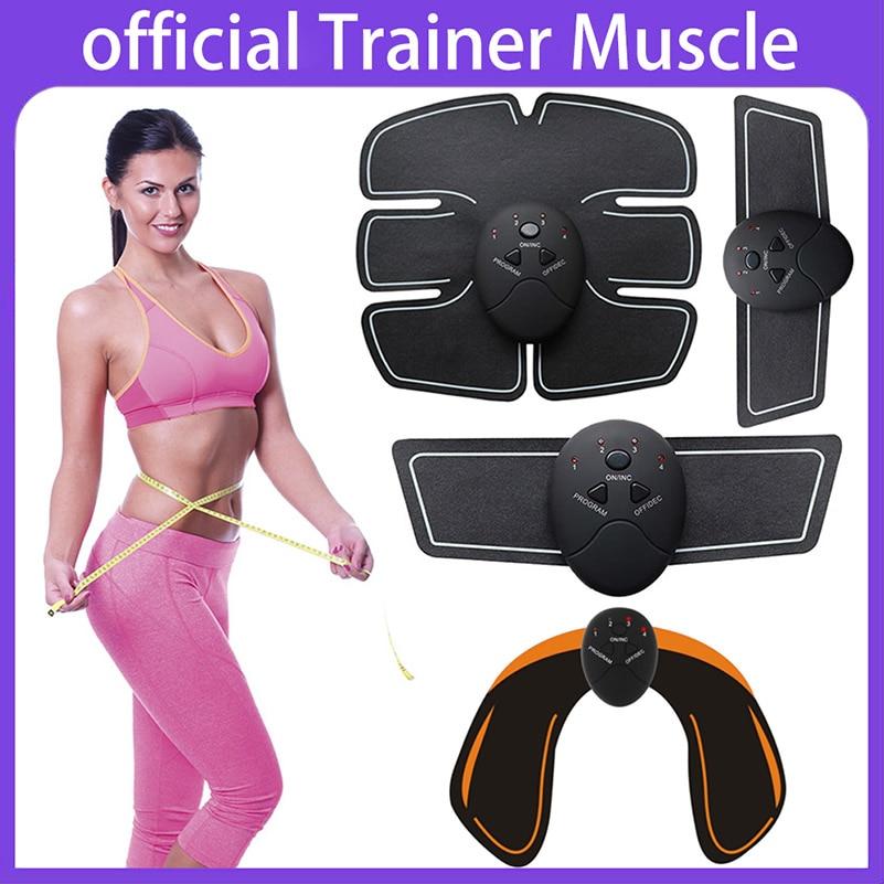 ems Entrenador Estimulador muscular abs tóner muscular Adelgazante - Cuidado de la salud