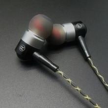 RY01 passionné basse oreille écouteurs All metal fabrication 10 MM choquant qualité sonore HIFI 5N cristal fils de cuivre écouteurs