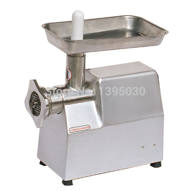 1PC 220V TJ22A Stainless Steel Meat Grinder Meat Making Machine Mincer With English Manual