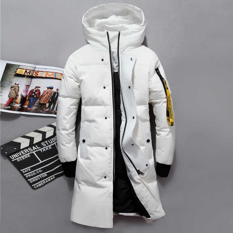 ed05ff27896ad VSD 2019 Fashion Winter New Jacket Men Warm Coat Parka Long Thickening Coat  Men For Winter