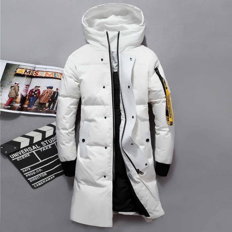 VSD 2019 Fashion Winter New Jacket Men Warm Coat Parka Long