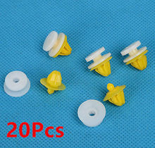 20x for Land Rover Discovery 3 4 Range Rover Sport Door Moulding Wheel Arch Clips