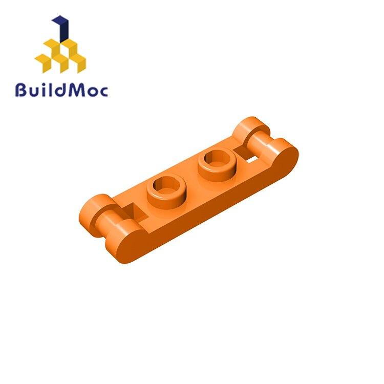 BuildMOC Compatible Legoing18649 1x2 For Building Blocks Parts DIY LOGO Educational Creative Gift Toys