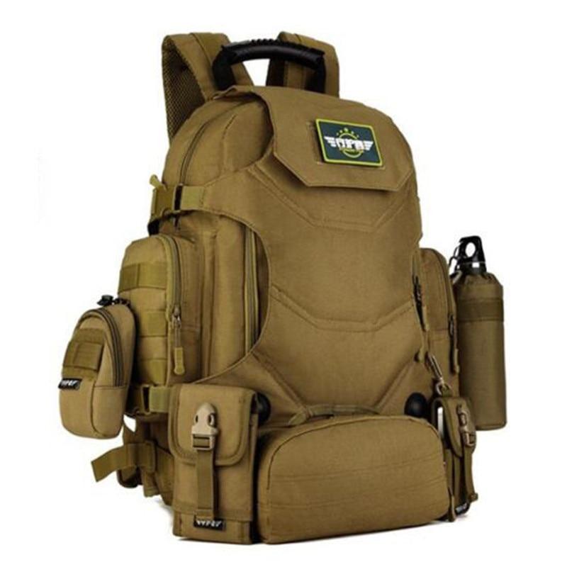 Wojskowy plecak we wzór maskujący plecak 40 litrów torby podróżne plecak wielofunkcyjny plecak 14 cal pack kobiet darmo hologramów w Plecaki od Bagaże i torby na  Grupa 3