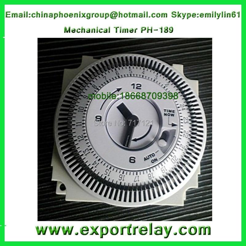 24 hour mechanical timer relay 220v timer programmable time