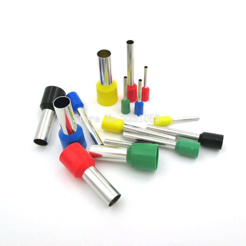 100PCS/LOT E0306 Tube insulating Insulated terminals 0.3MM2 Cable Wire Connector Insulating Crimp Terminal Connector VE0306 джилекс циркуль 32 40
