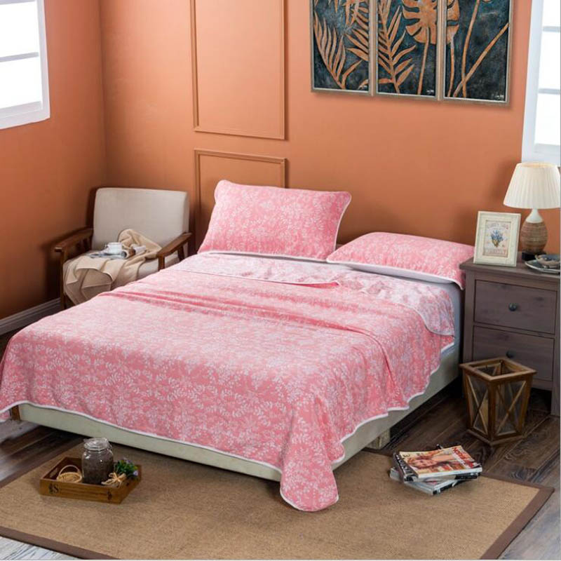 Blanket On The Bed Faux Fur Coral Fleece Mink Throw Solid Color ...