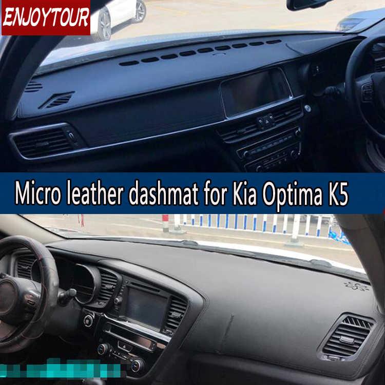 Car Custom Dash Cover for KIA Sorento 2009-2012 2013-2014 2015-2018 Auto Dashboard Pad DashMat Dash Board Cover Black line