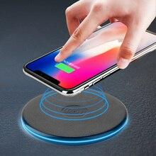 Круглый светильник беспроводной зарядный коврик Wifi индукционное зарядное устройство без проводов зарядное устройство s для mate 20 Pro QI Беспроводное зарядное устройство Pad