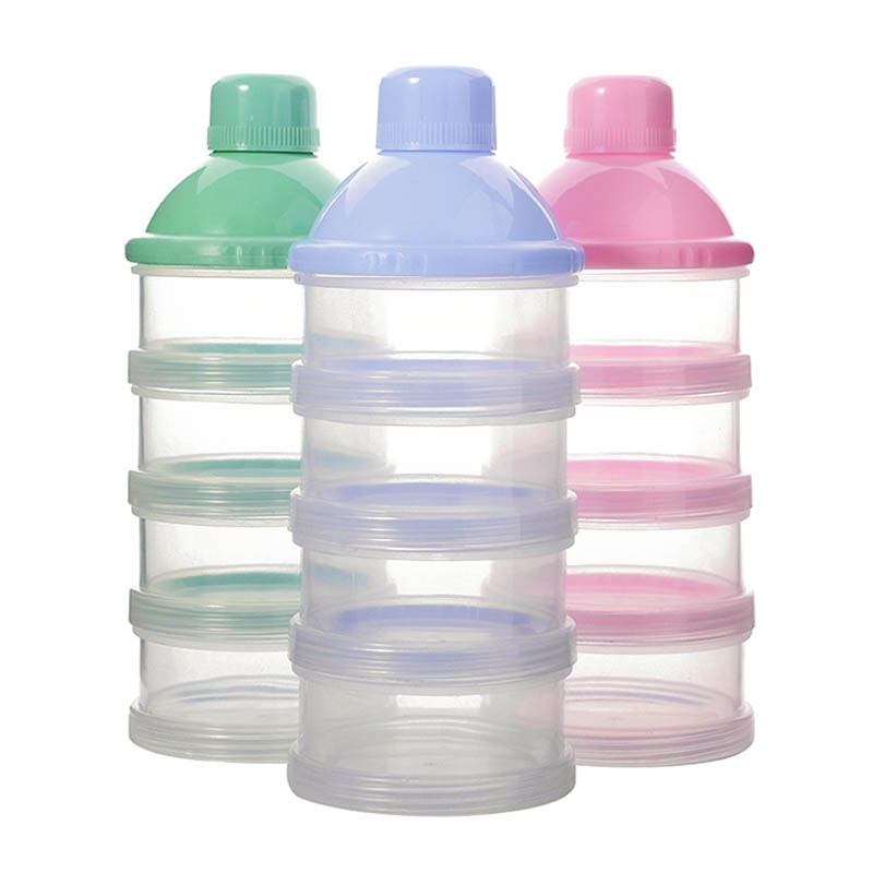 1Pc Portable Baby Milk Powder Formula Dispenser Food Container Candy Snack Box