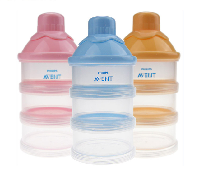 Avent Stackable Formula Milk Powder Dispenser Food Storage Container