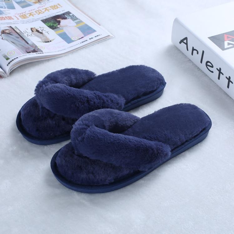 2017 autumn winter bedroom slippers luxury men women - Ladies bedroom slippers with heel ...