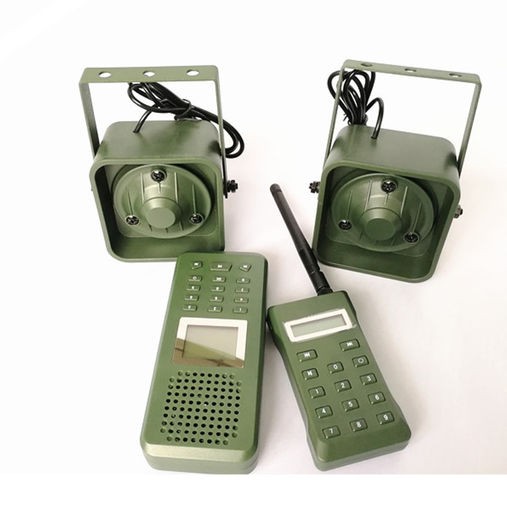 Image 5 - Decoy Hunting Brid caller 300 500m Remoteremote Control 2*50W External Loud Speaker Electronics Animal Caller for Hunting-in Hunting Cameras from Sports & Entertainment