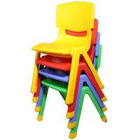 Thicker Child Chairs Back Stool Plastic Baby Chair Home Non Slip Children Over 2 Years Old