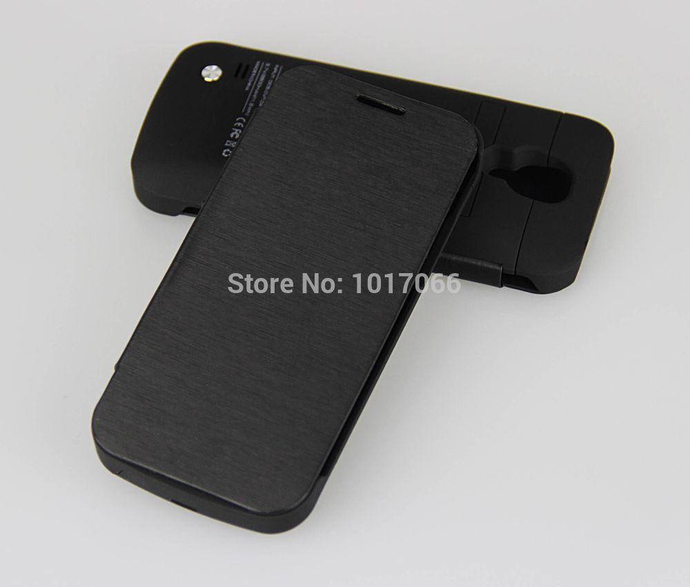bilder für 3000 mAh Externe Unterstützungsladegerät Fall Samsung Galaxy S4 mini I9190 I9192