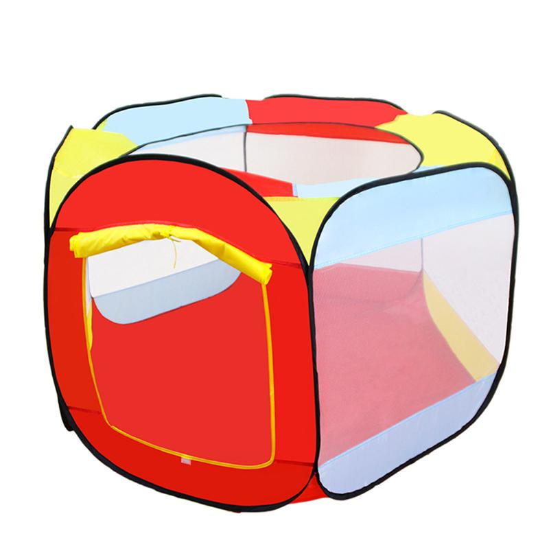 Baby Portable Folding Tent Play House Indoor And Outdoor Ocean Ball Pool Pit Game Kids Toy Tents For Kids Children Playing
