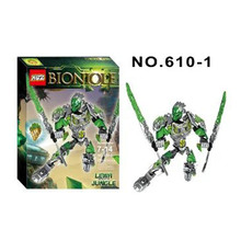 XSZ 610-1 BionicleMask of Light Bionicle Lewa Jungle  Keeper of the Grove Minifigure Building Block Compatible with Legoe Toys
