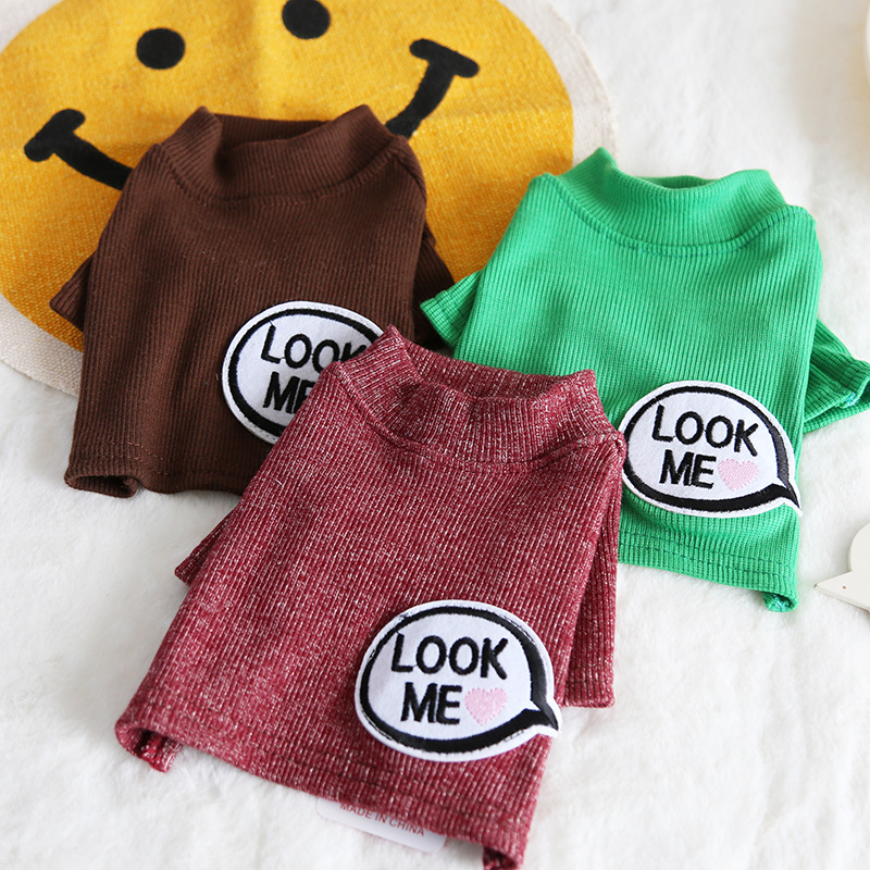 Look Me Cotton Pet Dog Cat Clothes Winter Warm Dog Hoodies Jacket Coats Clothes For Dogs Cat Pet Clothing Small Large image