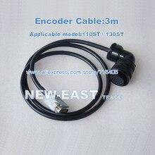 Горячая 3 метра 110ST \ 130ST мотор кодер кабель для 110ST \ 130ST сервопривод серии I/O разъем
