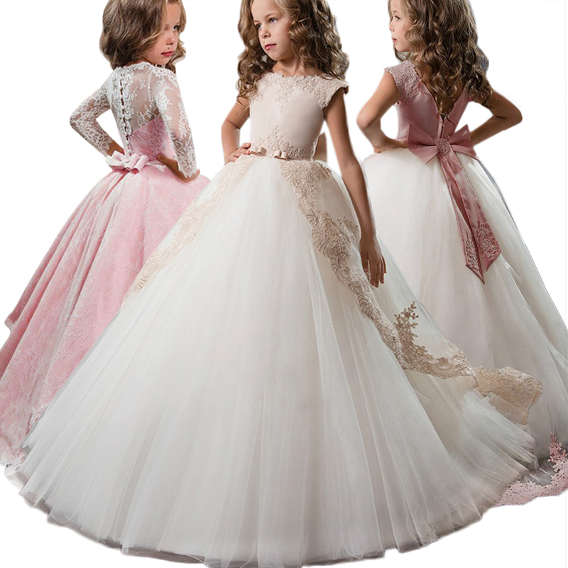 huge discount faef0 6d1a2 Vestidos Für Kinder Elegante Kleider Abend Prinzessin ...