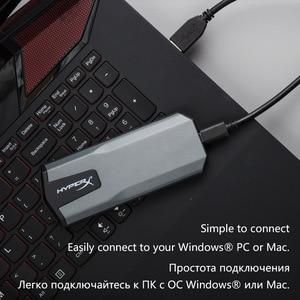 Image 3 - キングストン HyperX ポータブルソリッドステートドライブ 480 ギガバイトの hdd 960 ギガバイト 3D NAND USB 3.1 世代 2 外部 ssd PC Mac PS4 1
