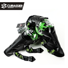 Cuirassier Kneepad Protector Motorbike Off-Road Motorcycle Protection Motocross Protect Kneepad Elbow Pads MX Protective Guards