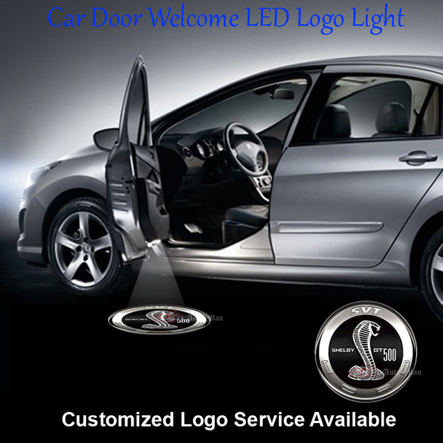 2x Verdrahtete Nhl team logo auto tür will Schritt Laser Projektion ...