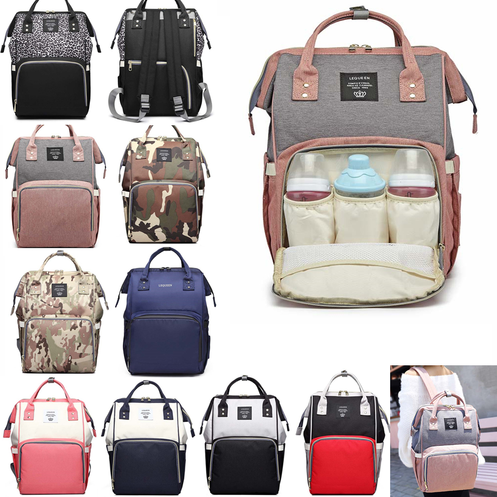 Mummy Maternity Nappy Diaper Bag Large Capacity Baby Care Bag Travel Backpack