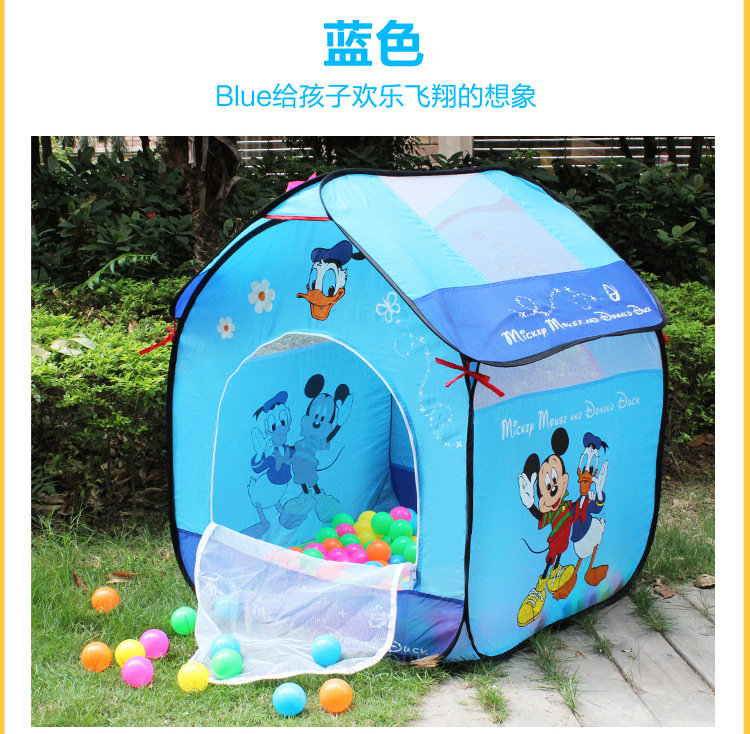 Baby Playpen Children Kid Ocean Ball Pit Pool In Outdoor Kids Hut Pool Play Tent Safety Mesh Baby Play Yard Baby Playpen