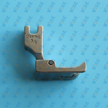 Hinged Left Raising Presser Foot With Guide for Top Stitch 12463HL important choose you wanted size